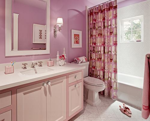 Bathroom ideas pink